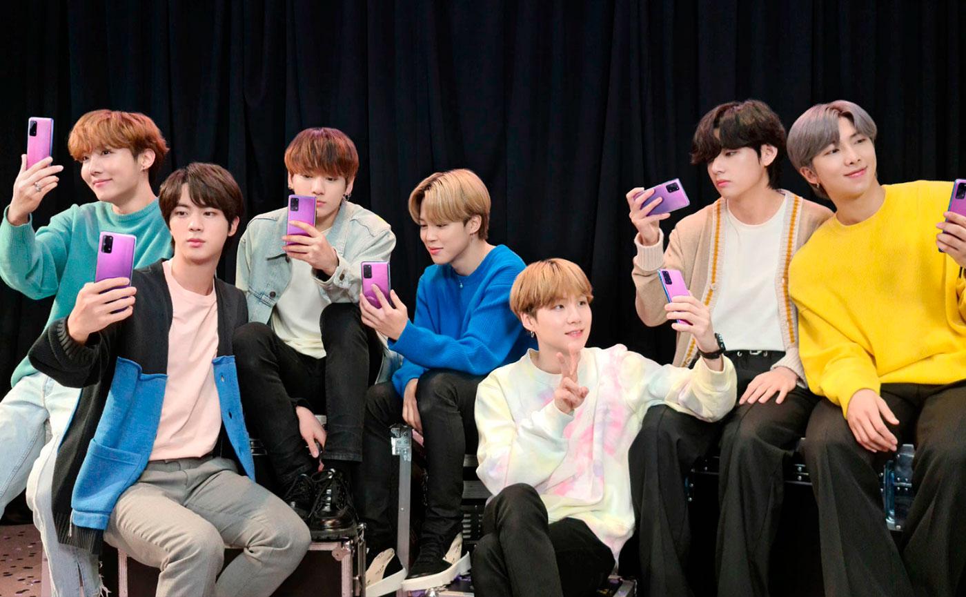 Samsung выпустила Galaxy S20+ и Galaxy Buds+ BTS Edition в честь K-pop группы