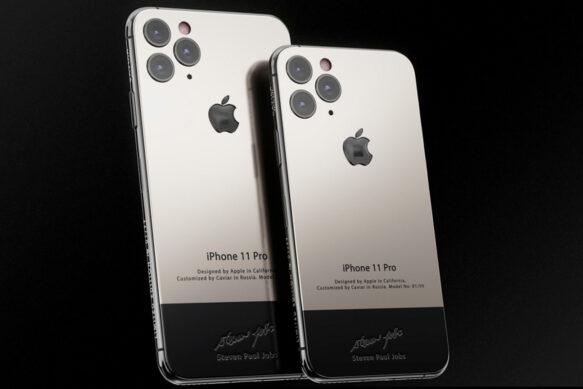 iPhone 11 Pro от Caviar с фрагментом водолазки Стива Джобса. Цена удивляет