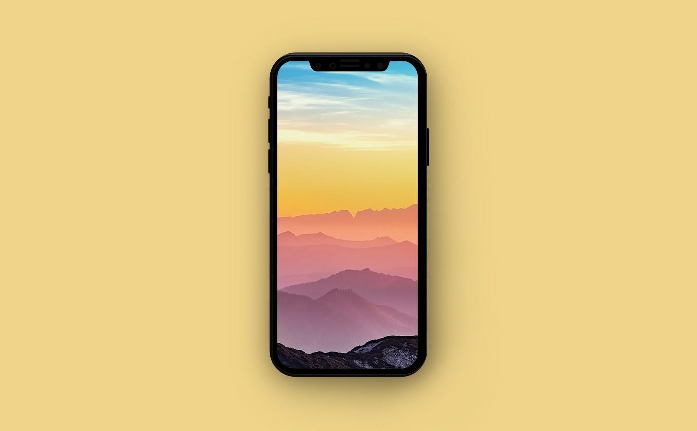 Летние обои для iPhone - горы