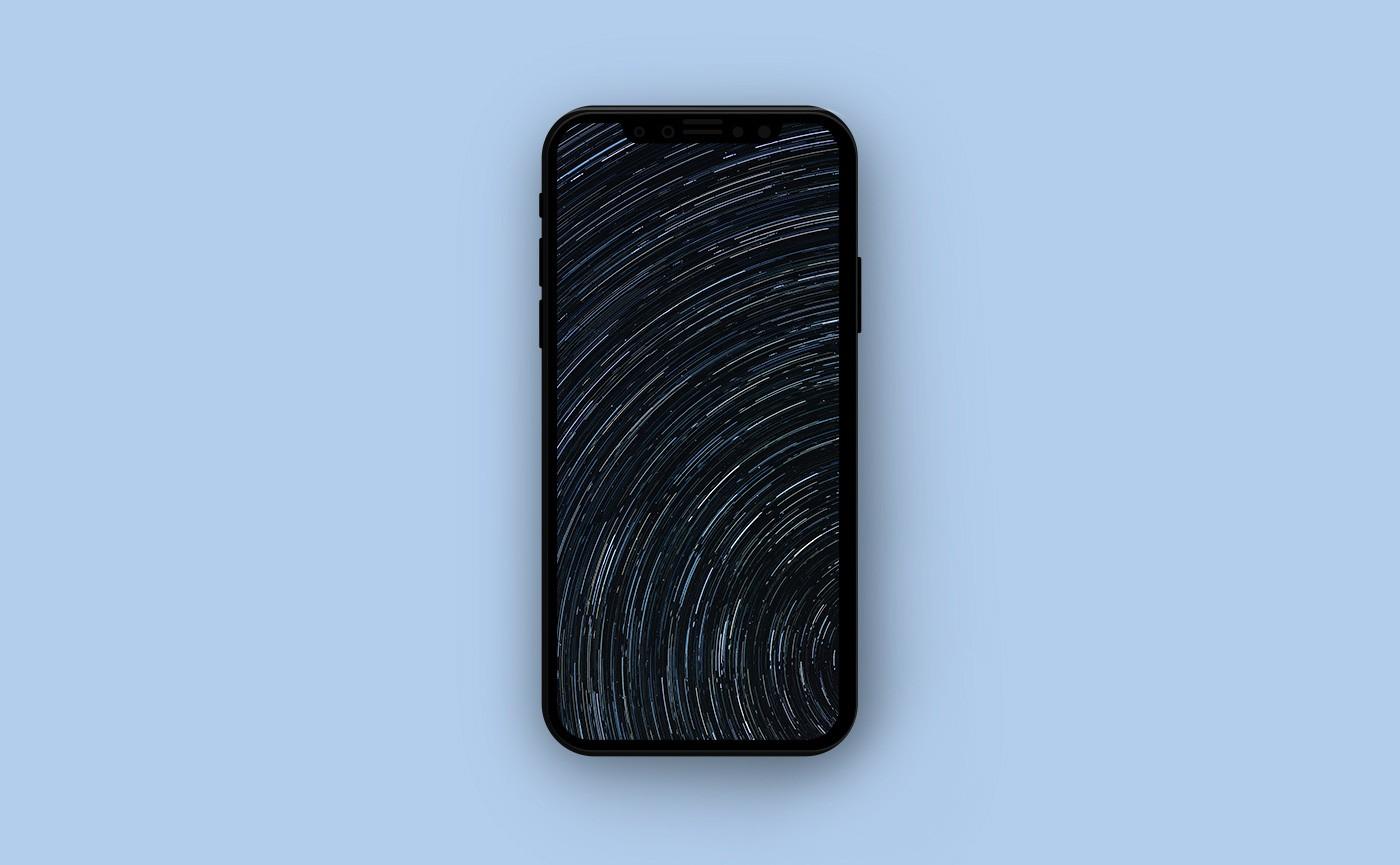Летние обои для iPhone - звездное небо