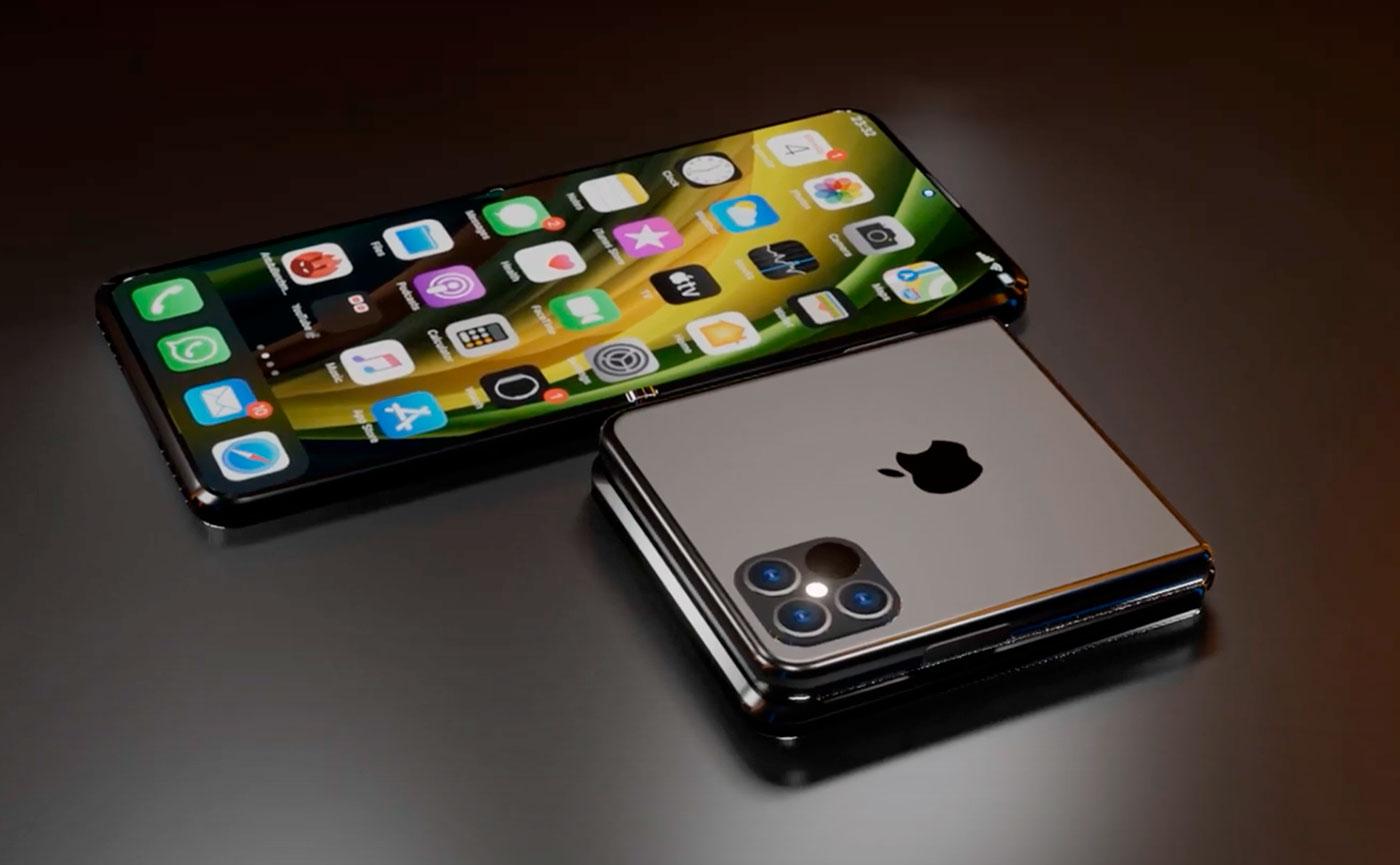 Слухи: Apple делает складной iPhone