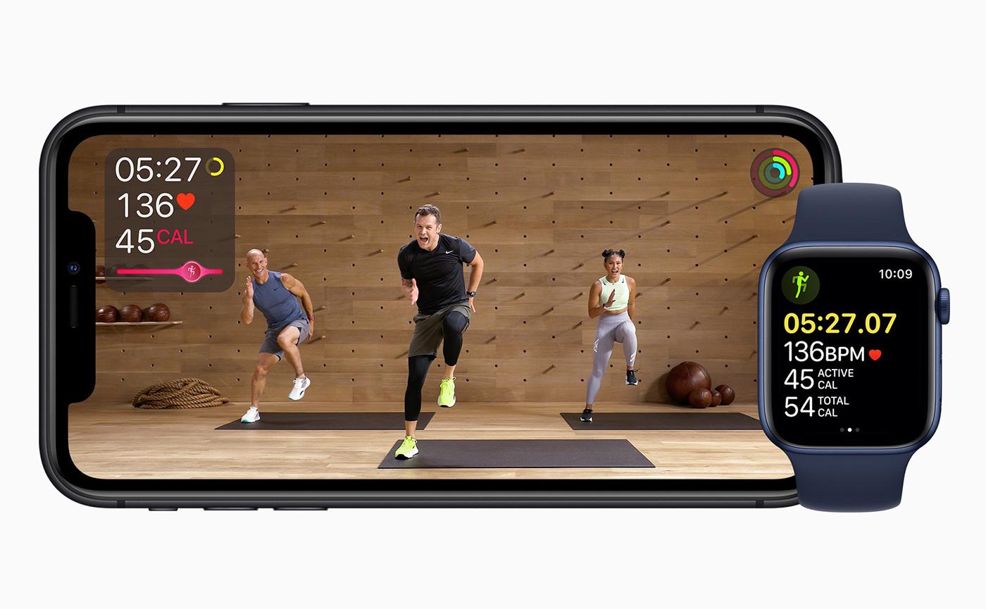 Apple Fitness по подписке