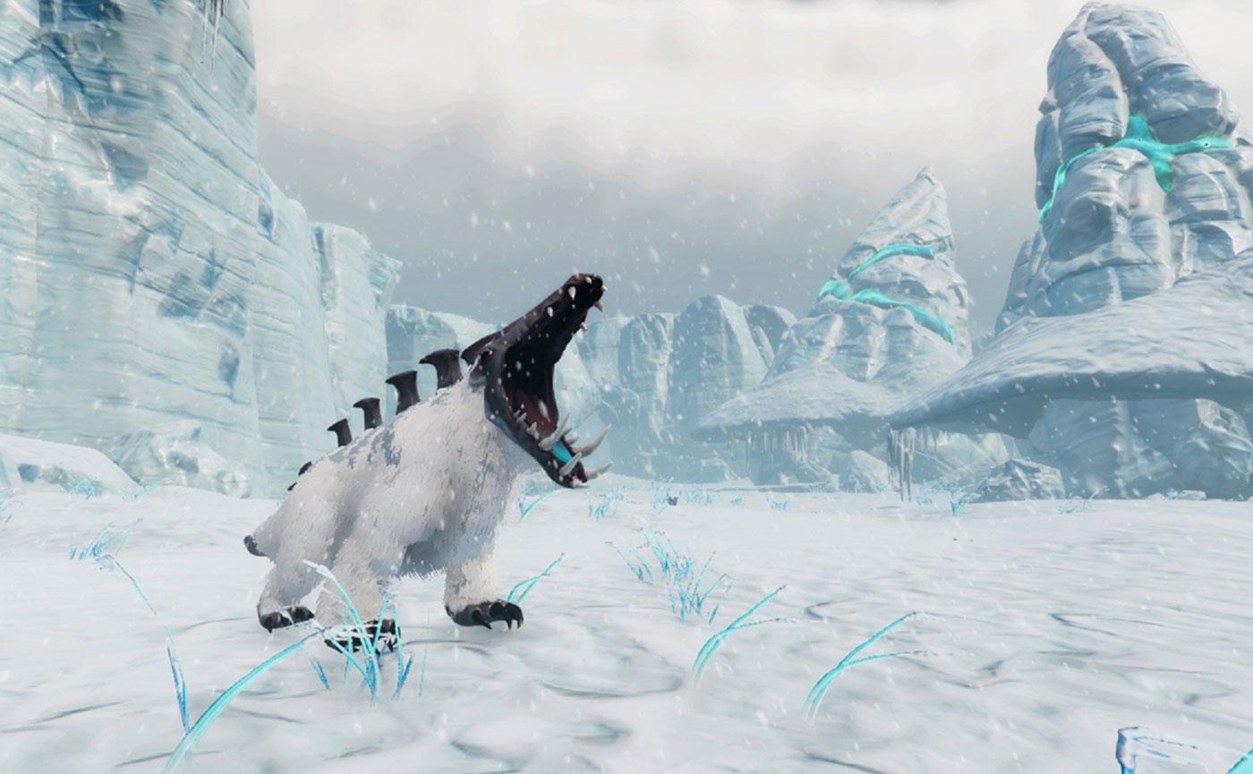 арктическое пространство в видеоигре