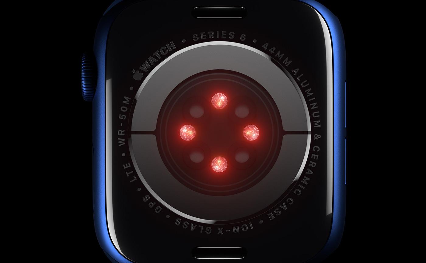 датчики в Watch Series 6