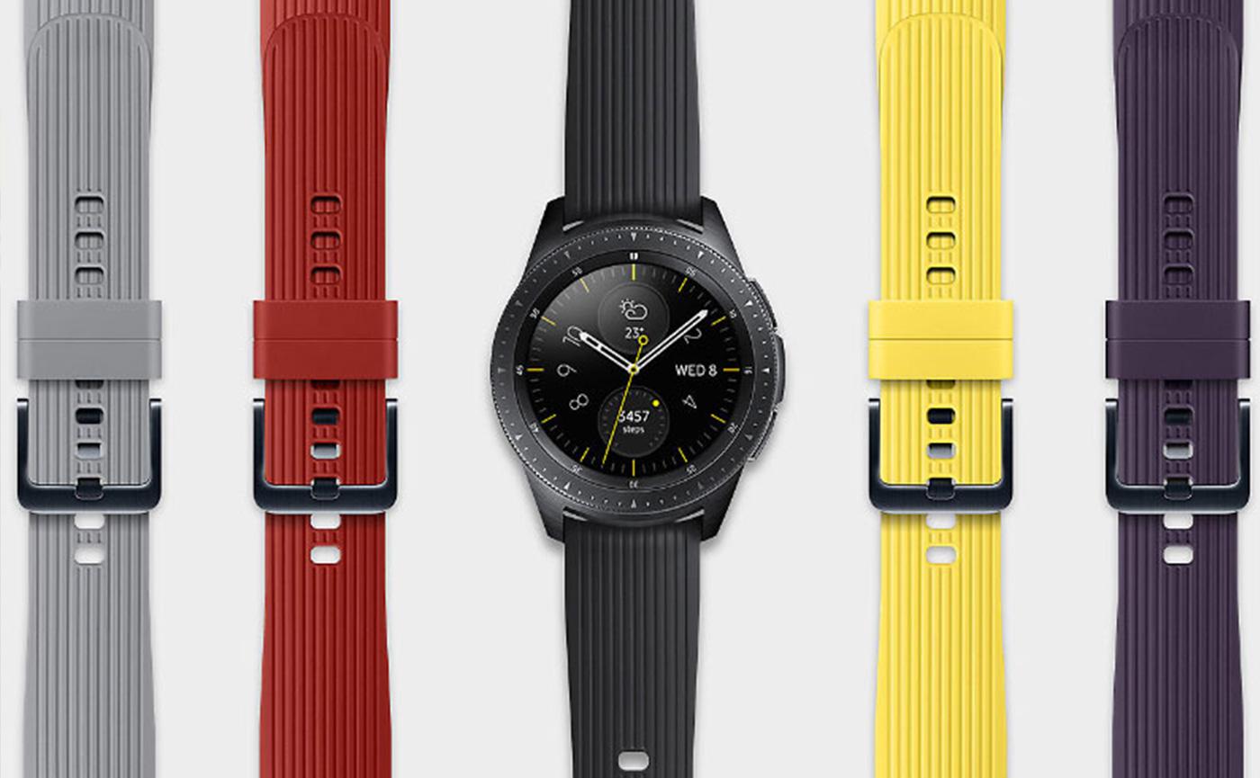дизайн смарт-часов samsung