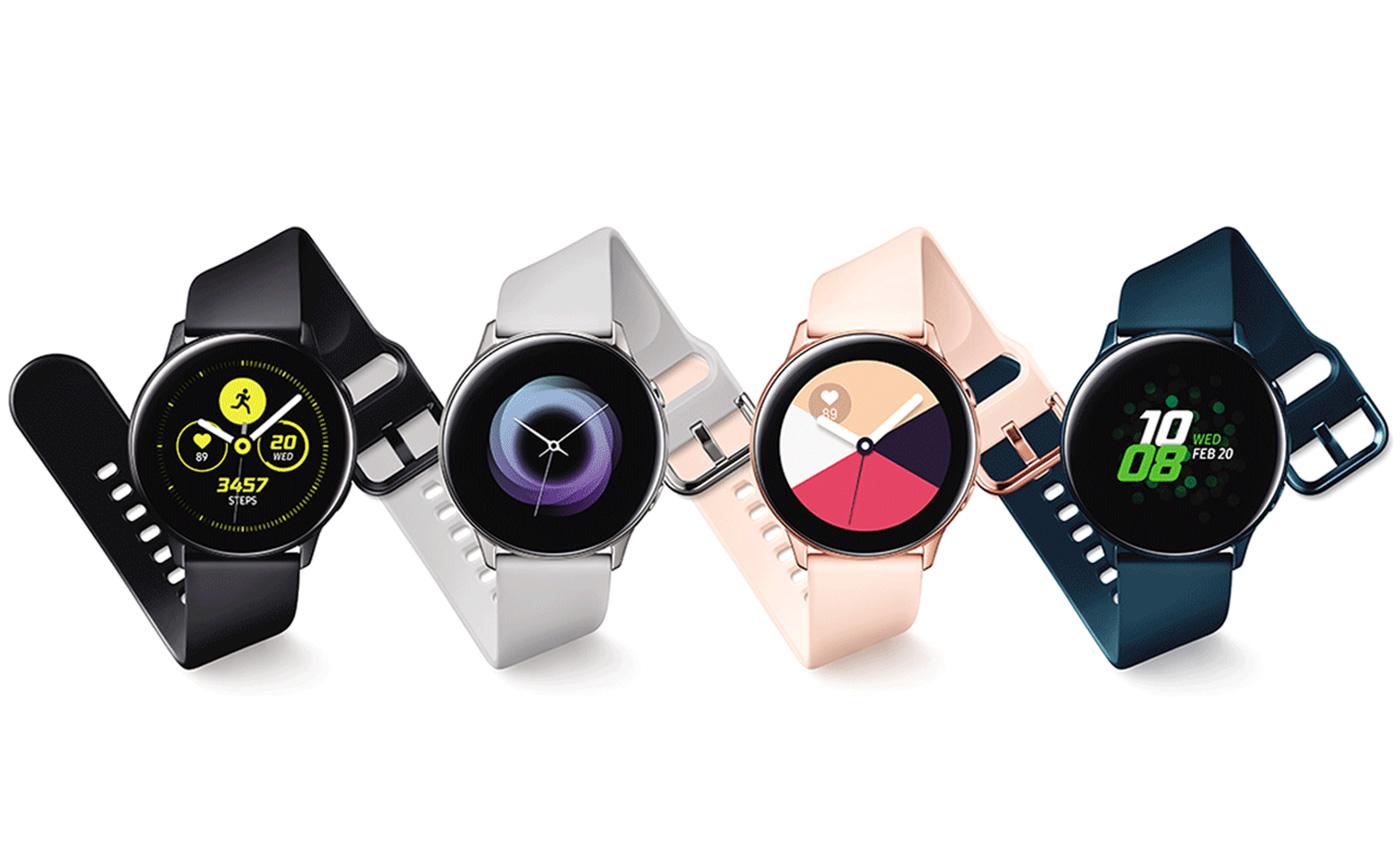 дизайн умных часов active