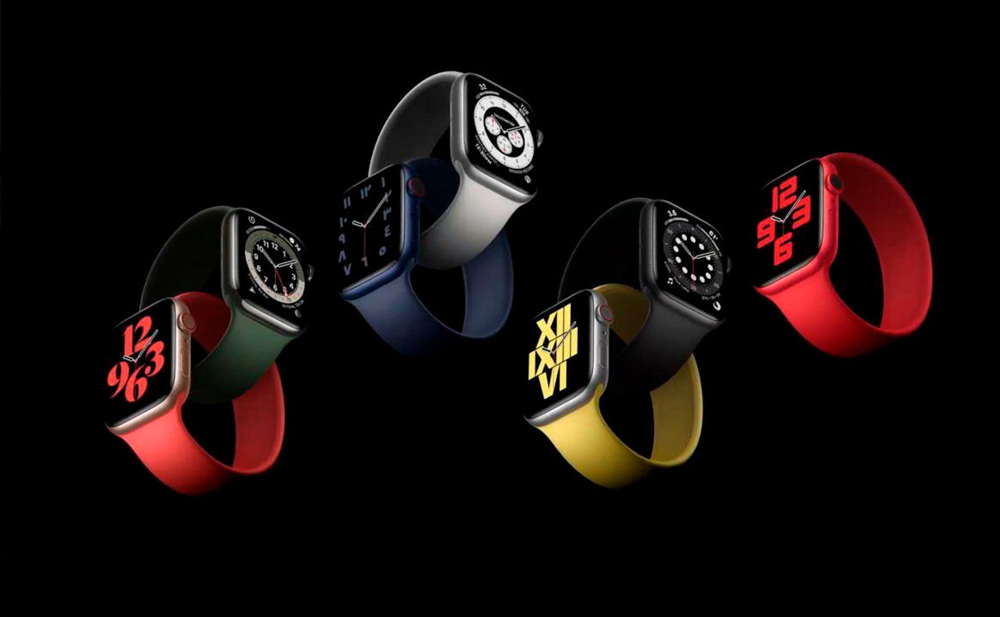 дизайн Watch Series 6
