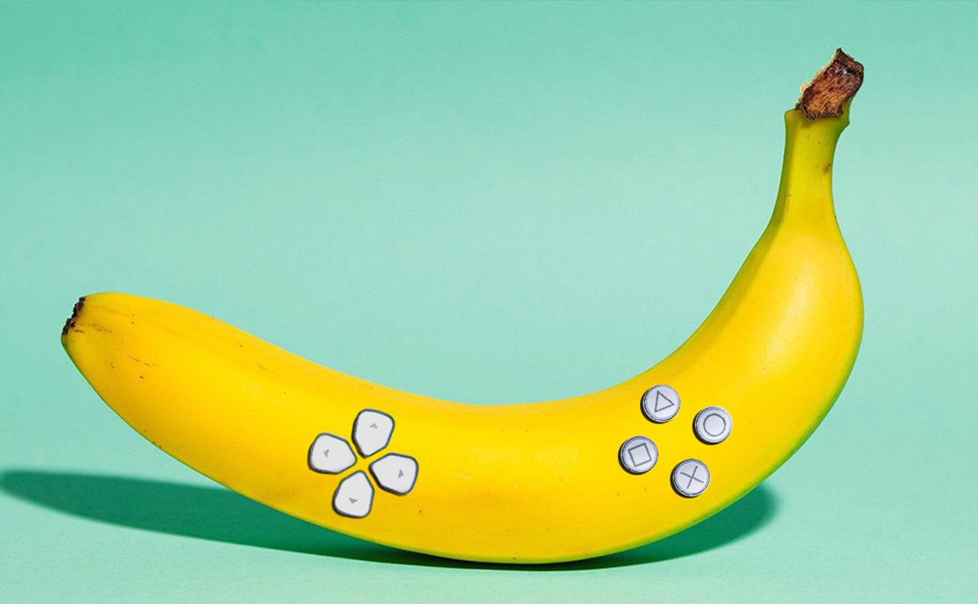 Банан — новый джойстик Sony.