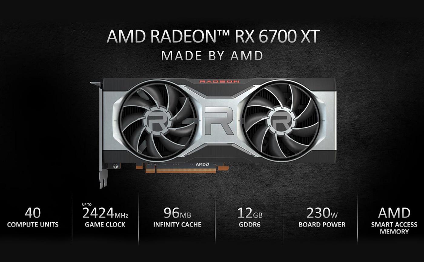 характеристики RX 6700 XT