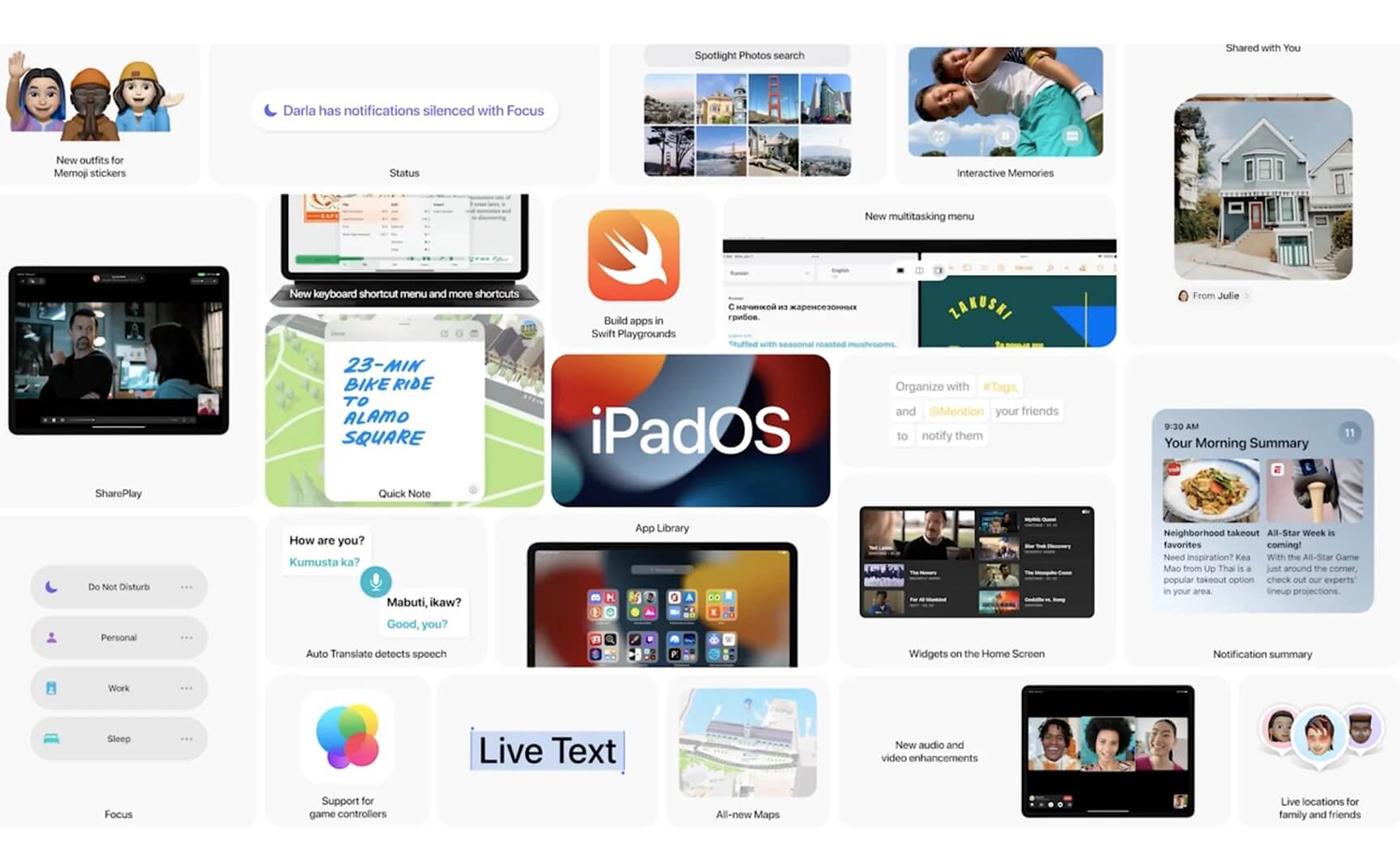 iPadOS 15 дата выхода