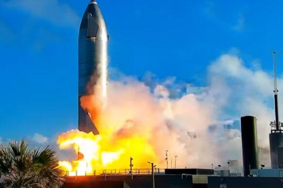 Испытания SpaceX Starship SN10 продолжаются: ракета приземлилась на платформу.