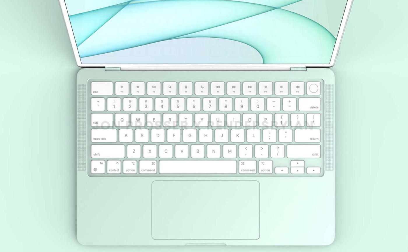 MacBook Air зелёный