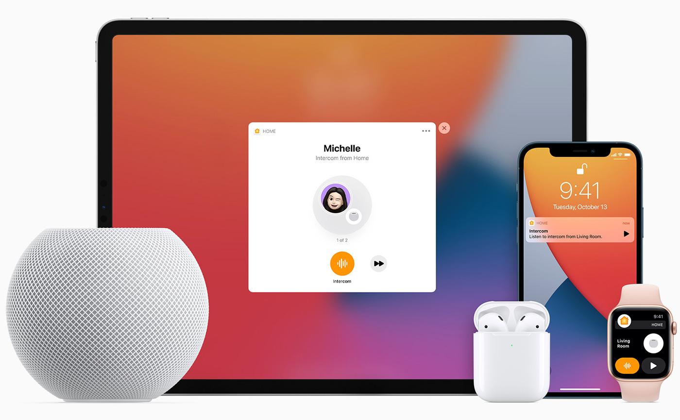 связь с гаджетами apple