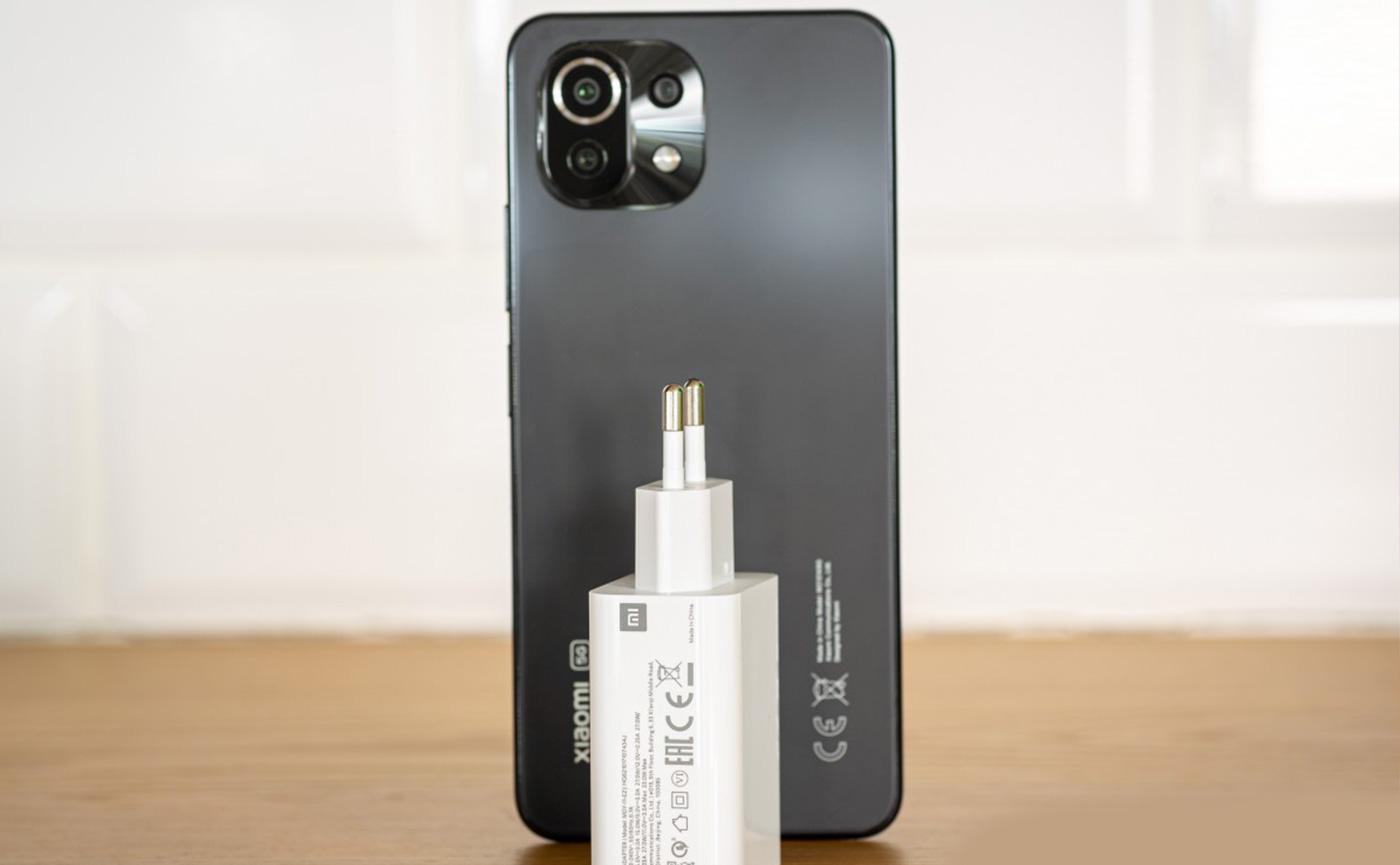Mi 11 Lite 5G быстрая зарядка