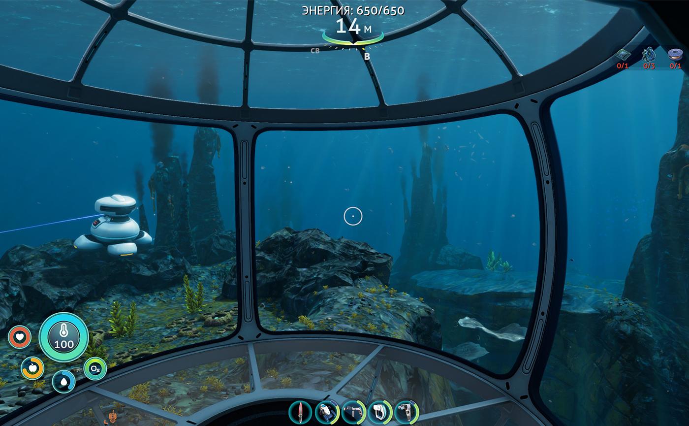 мореход в видеоигре на пк