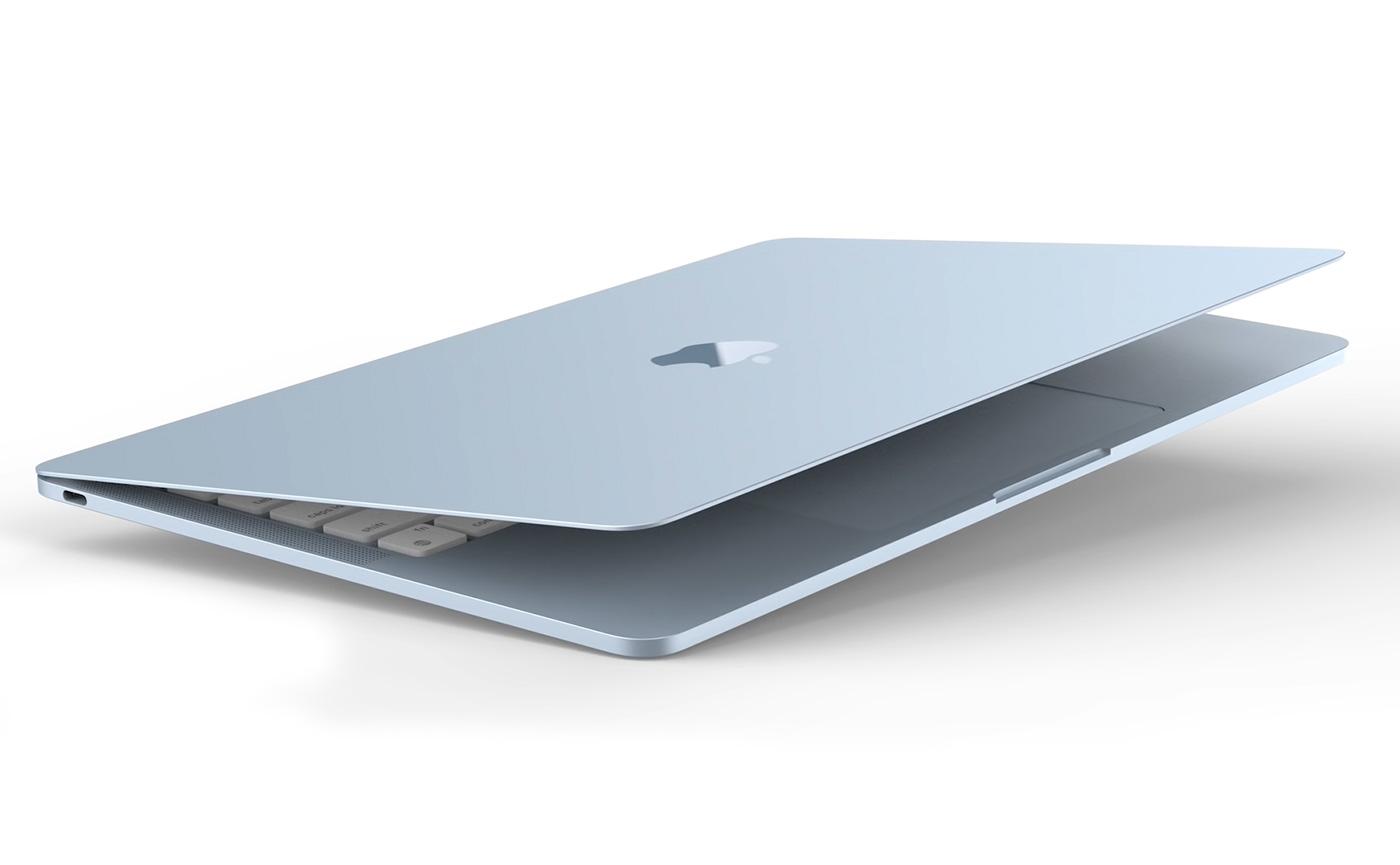 MacBook Air в новых ярких цветах