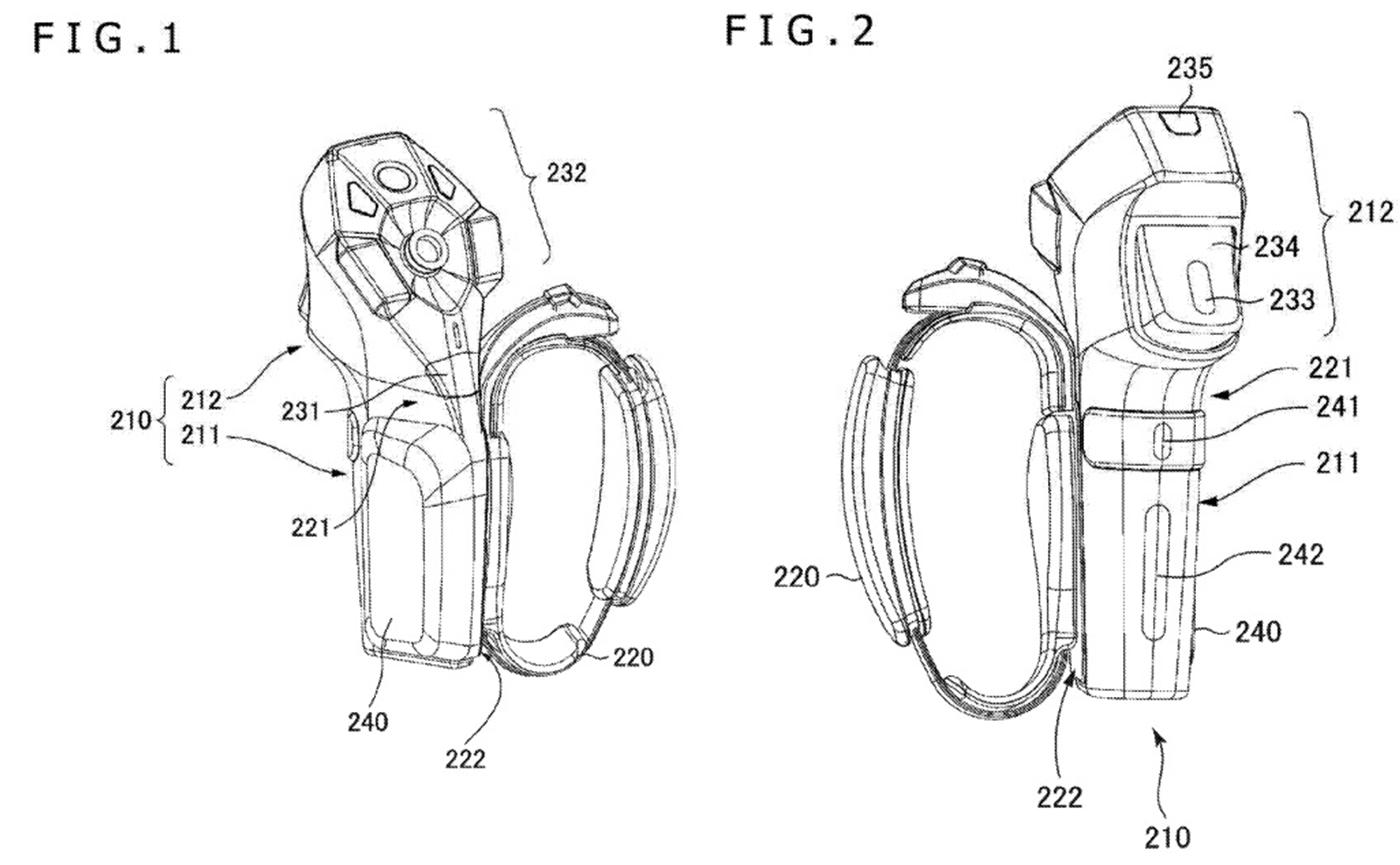 патент Sony для шлема