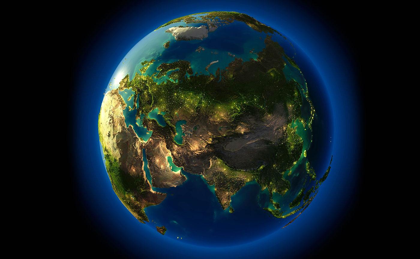 планета земля в Minecraft