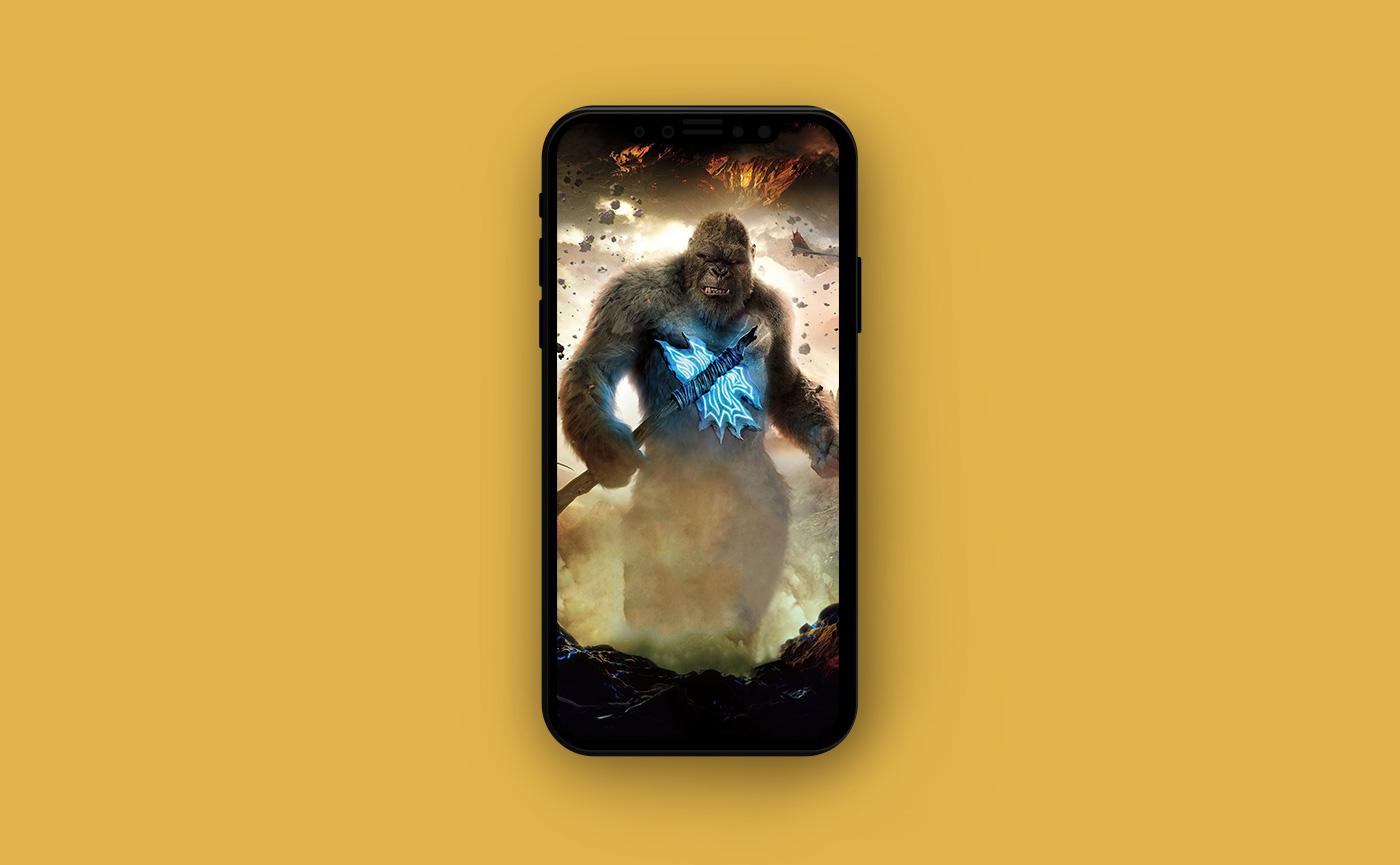 Обои на iPhone - Кинг-Конг