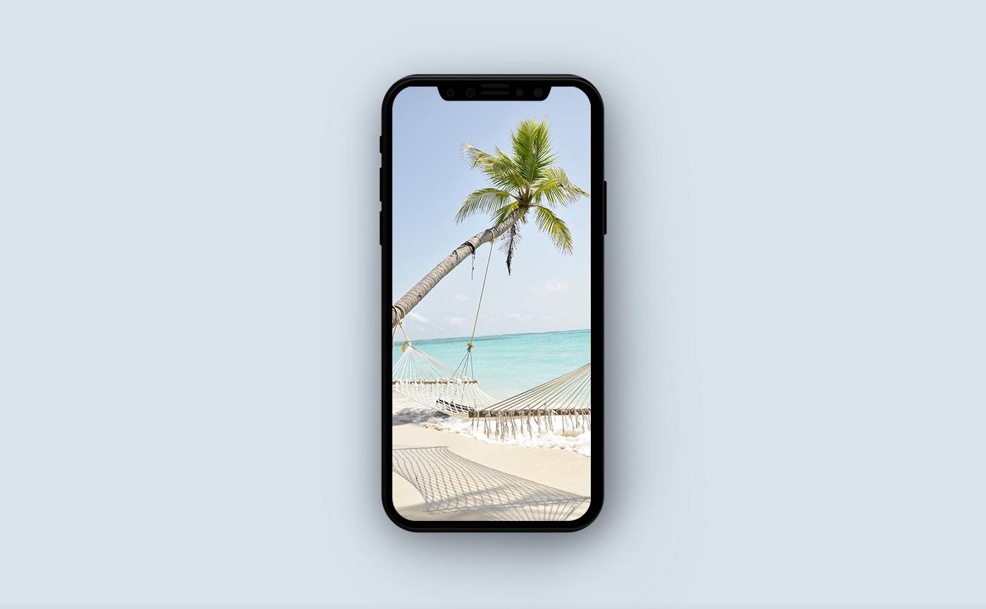 Обои на iPhone - морской берег
