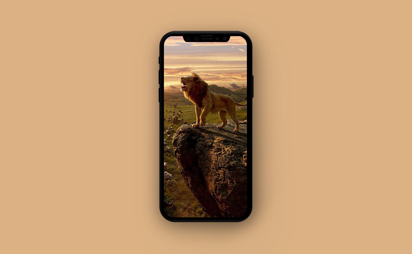 Киношные обои для iPhone - Король лев