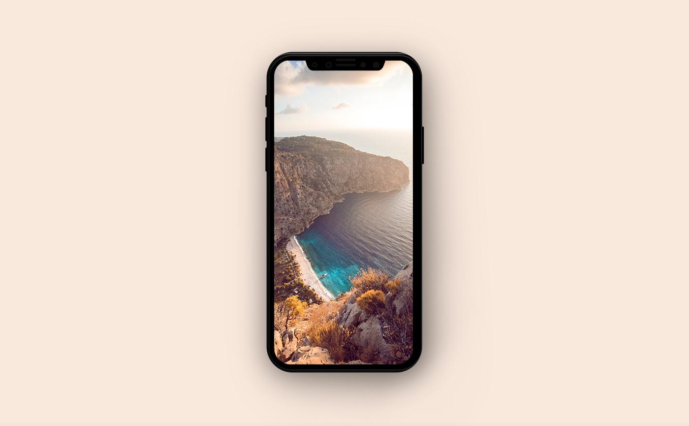 Обои на iPhone - горные виды