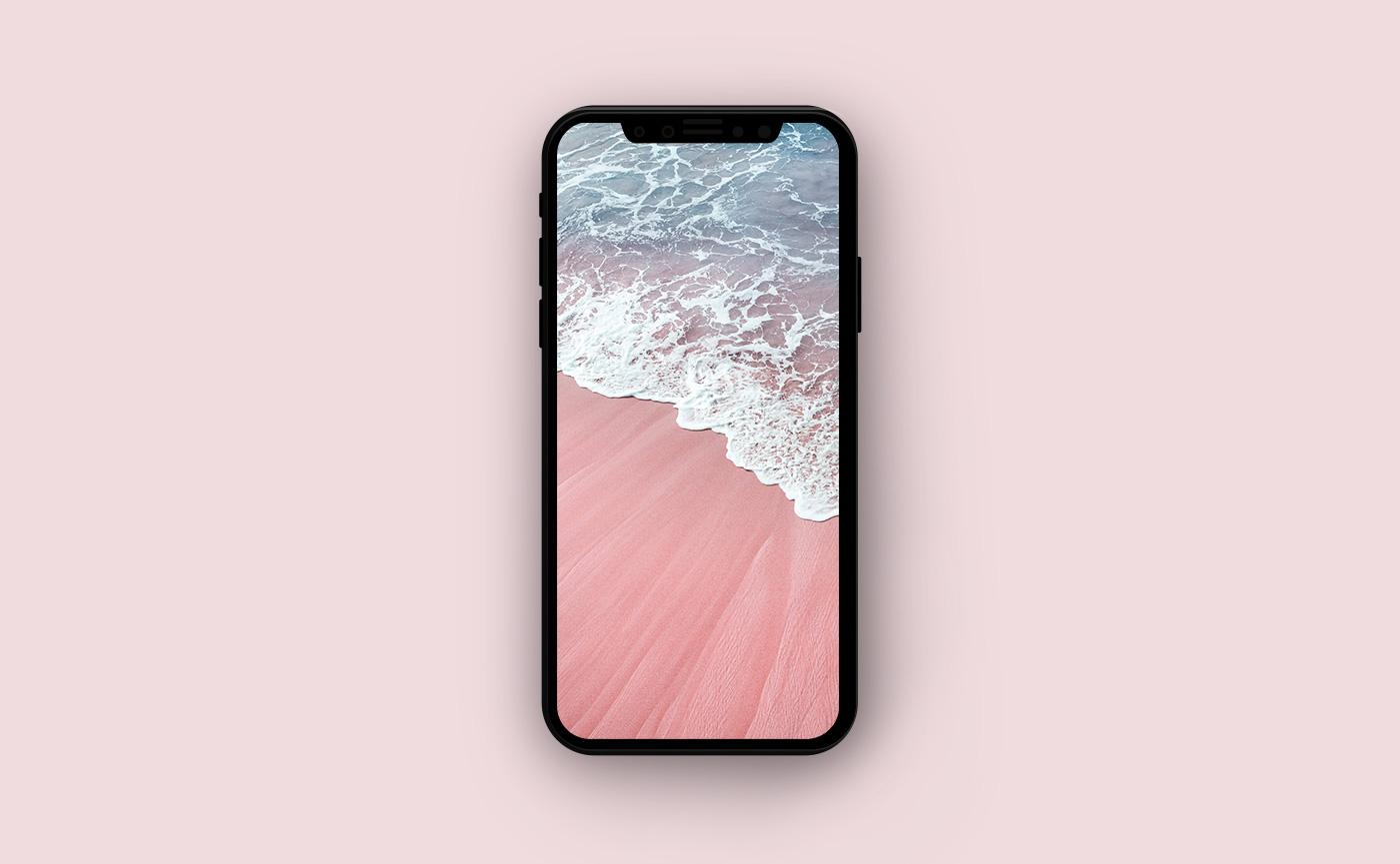 Морские обои для iPhone - волна