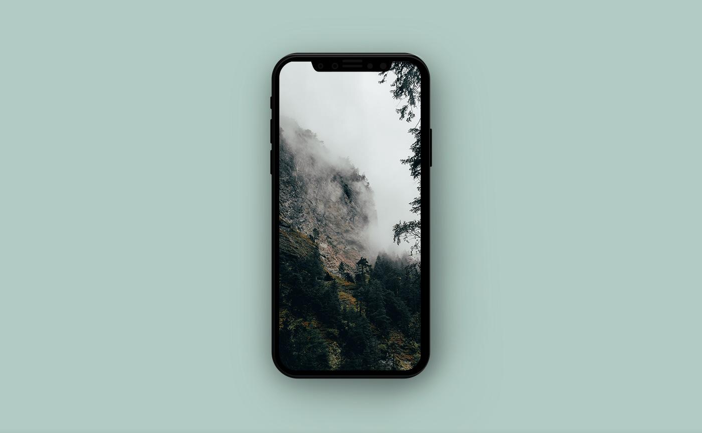 Горные обои для iPhone - Швейцария