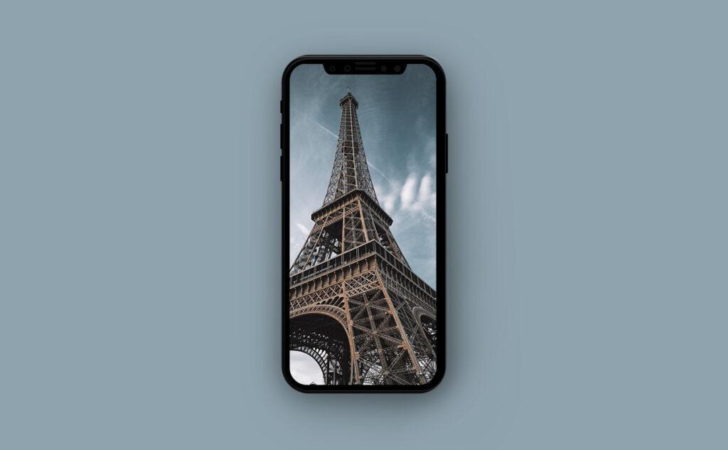 Французские обои для iPhone - достопримечательности Франции