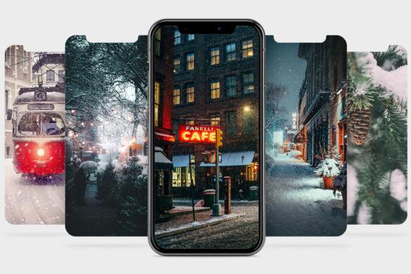 #20 Обои для твоего iPhone: первый снег