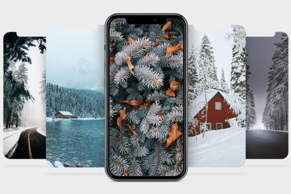 #21 Обои для твоего iPhone: начало зимы