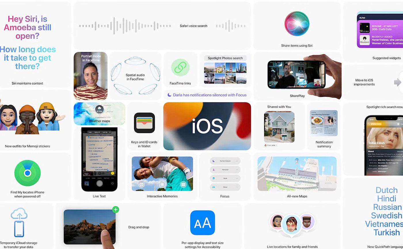 презентация iOS 15