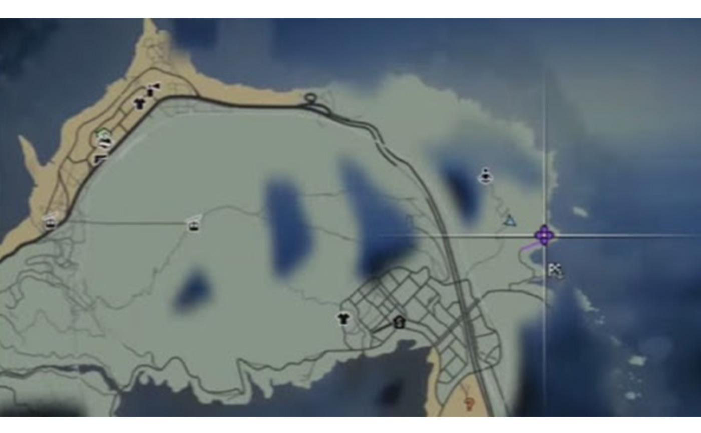 призрак на горе гордо в Grand-Theft Auto 5