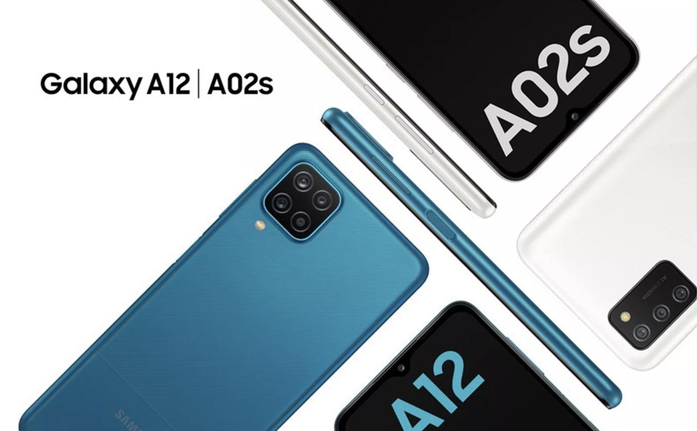 Новые смартфоны Galaxy A12 и 02s от Samsung.