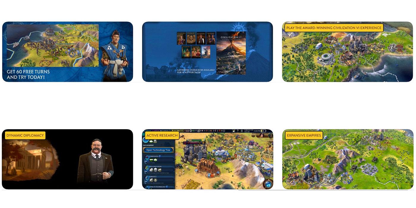 Скриншоты Civilization VI