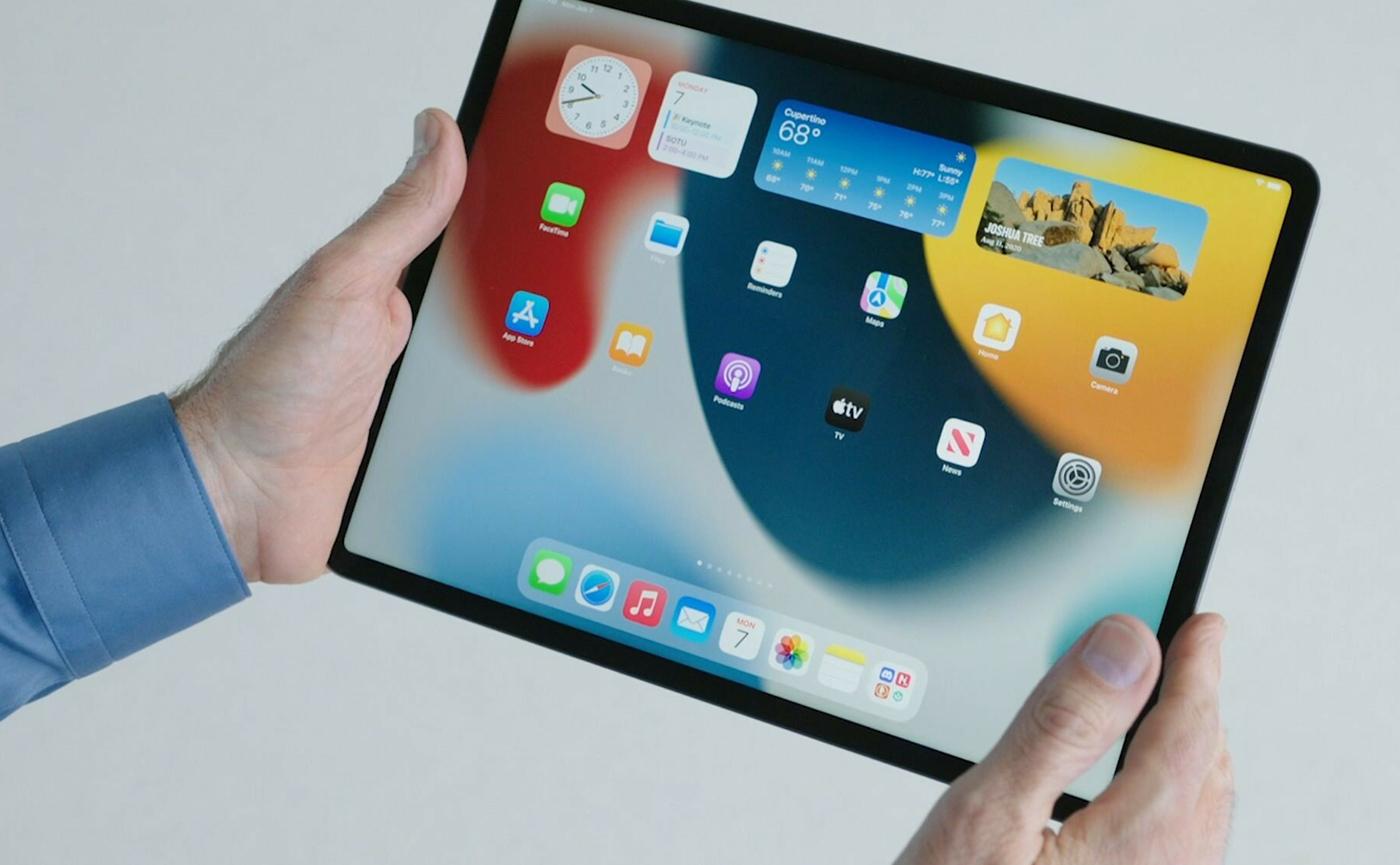 виджеты в iPadOS 15
