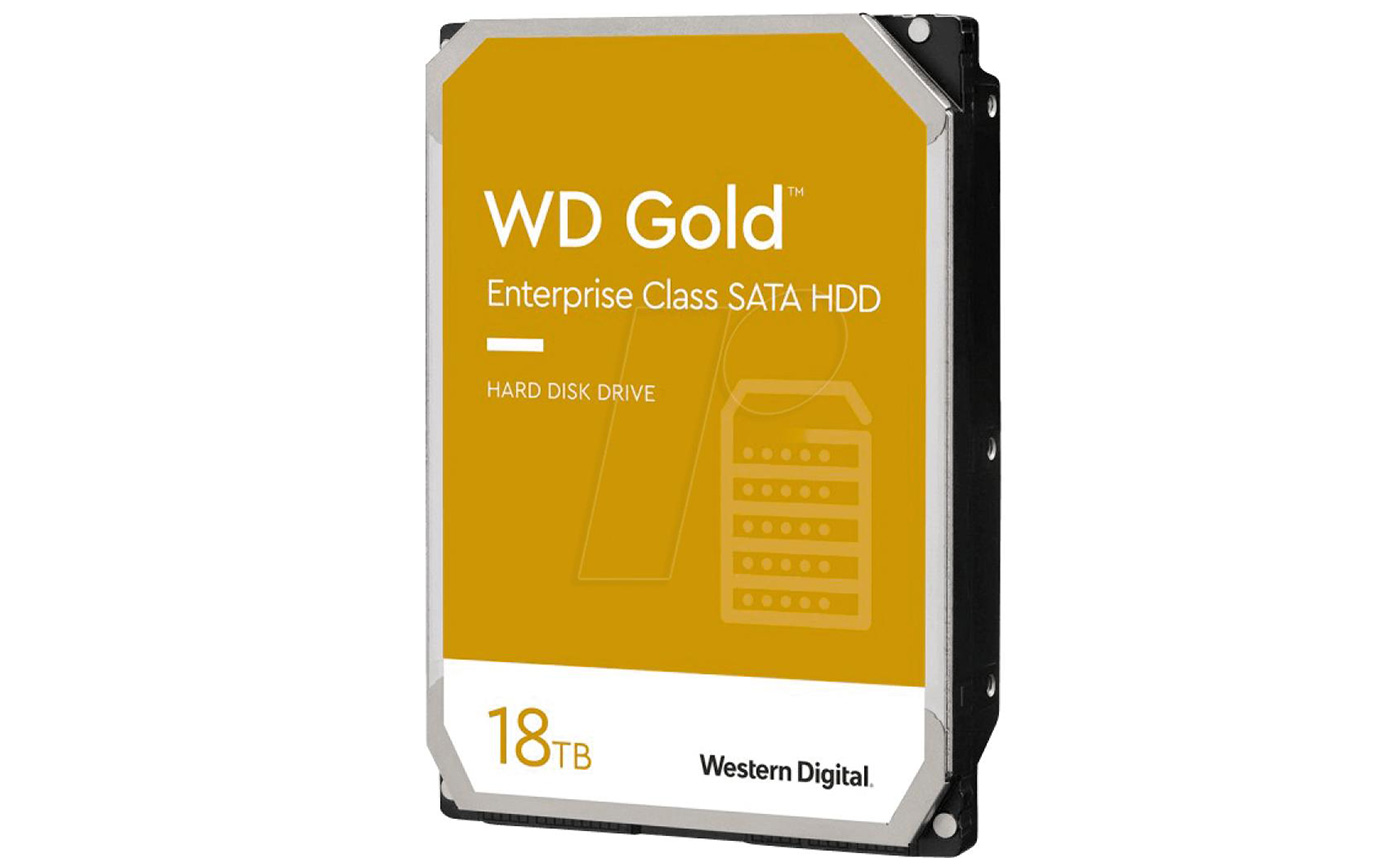 Western Digital WD Gold ёмкостью 18 ТБ